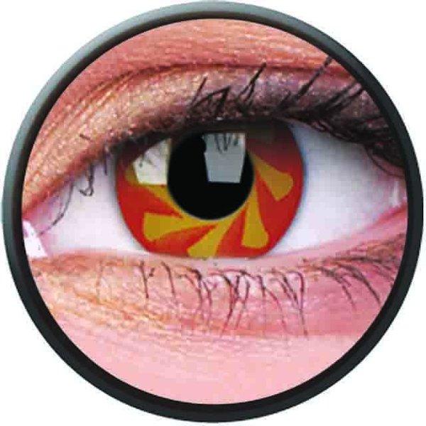 Phantasee Crazy Kontaktlinsen - Blood Spin (2 St. Jahreslinsen) – ohne Stärke - exp.02/2021