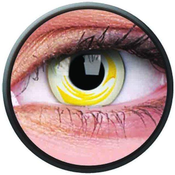 Phantasee Crazy Kontaktlinsen - Pure Galaxy (2 St. Jahreslinsen) – ohne Stärke - exp.02/2021
