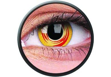 Phantasee Crazy Kontaktlinsen - Red Tornado (2 St. Jahreslinsen) – ohne Stärke - exp.02/2021