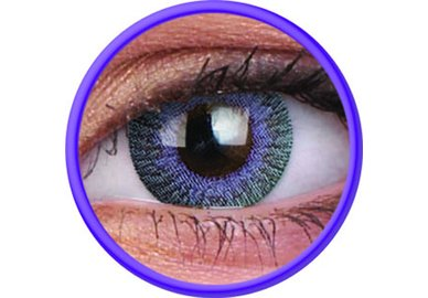 ColorVue Fusion - Violet Gray (2 St. 3-Monatslinsen) – ohne Stärke