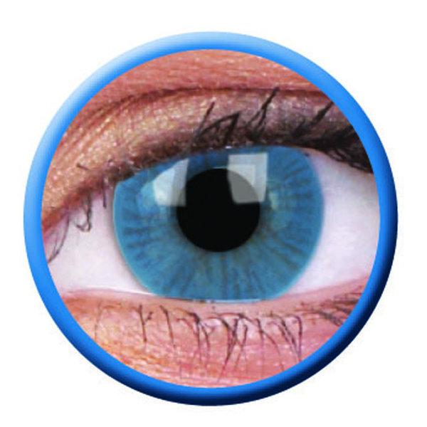 ColorVue Basic - Blue (2 St. 3-Monatslinsen) – ohne Stärke