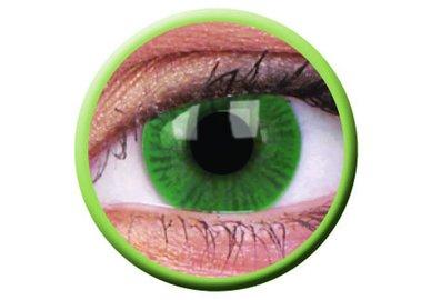 ColorVue Basic - Green (2 St. 3-Monatslinsen) – ohne Stärke