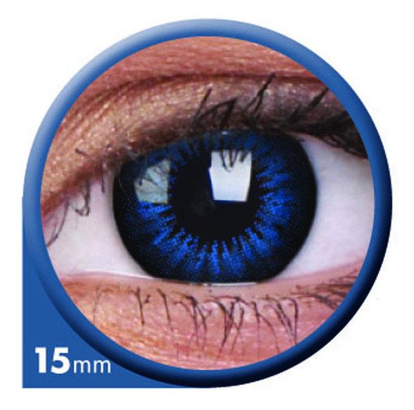 ColorVue Big Eyes - Cool Blue (2 St. 3-Monatslinsen) – mit Stärke