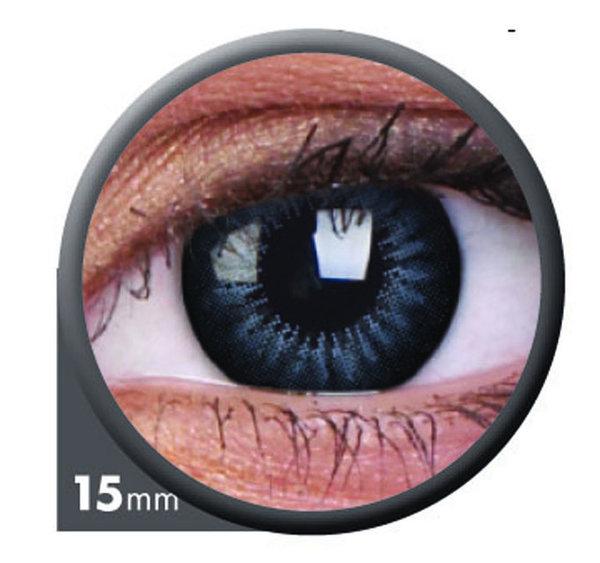 ColorVue Big Eyes - Evening Grey (2 St. 3-Monatslinsen) – ohne Stärke