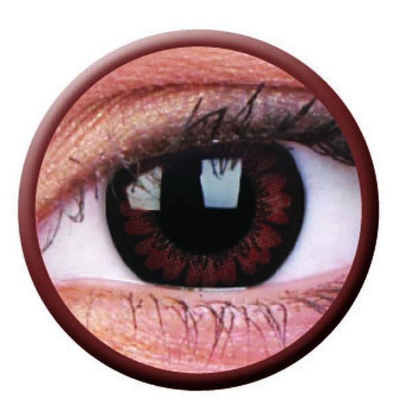 ColorVue Big Eyes - Pretty Hazel (2 St. 3-Monatslinsen) – mit Stärke