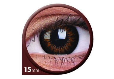 ColorVue Big Eyes - Sweet Honey (2 St. 3-Monatslinsen) – ohne Stärke