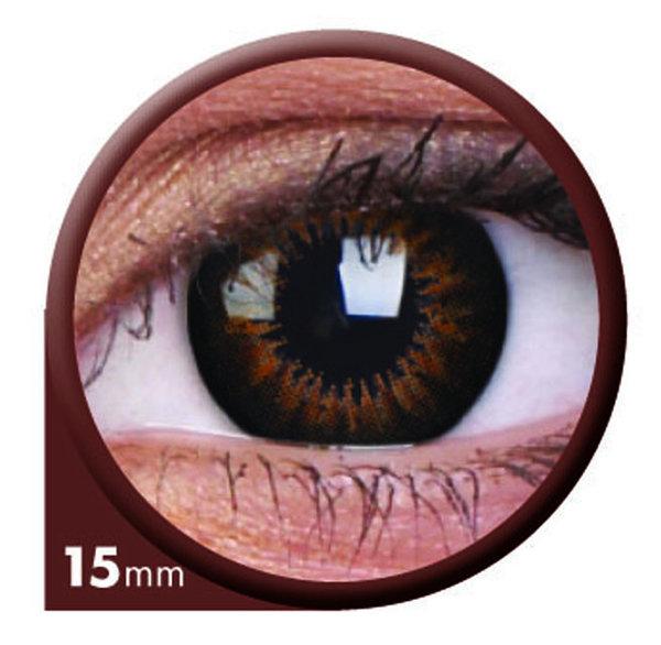 ColorVue Big Eyes - Sweet Honey (2 St. 3-Monatslinsen) – ohne Stärke