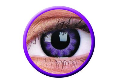 ColorVue Big Eyes - Ultra Violet (2 St. 3-Monatslinsen) – ohne Stärke