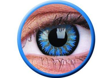 ColorVue Glamour - Aqua (2 St. 3-Monatslinsen) – mit Stärke