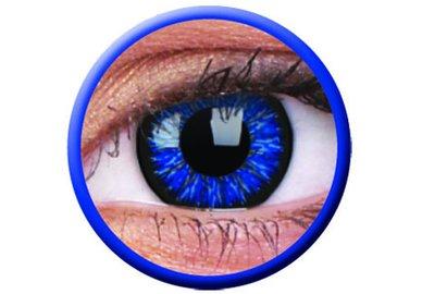 ColorVue Glamour - Blue (2 St. 3-Monatslinsen) – mit Stärke