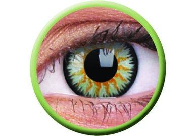 ColorVue Glamour - Green (2 St. 3-Monatslinsen) – ohne Stärke