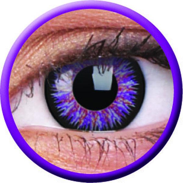 ColorVue Glamour - Violet (2 St. 3-Monatslinsen) – ohne Stärke