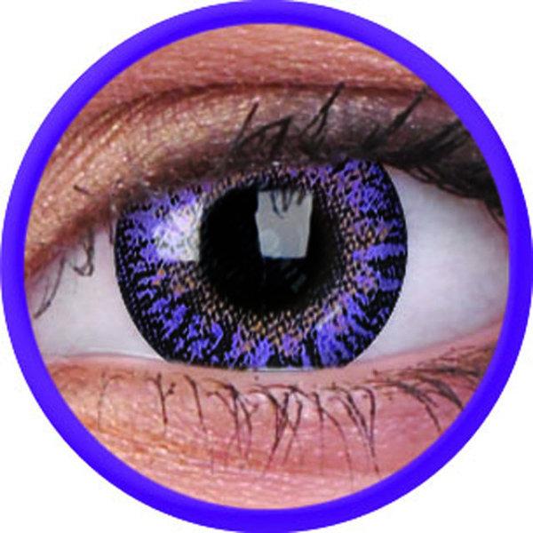 ColorVue Trublends One-Day ohne Stärke (10 Linsen) - Violet