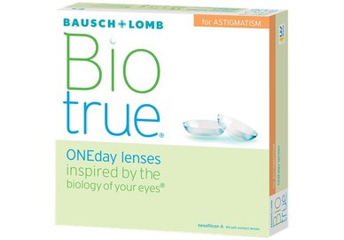 Biotrue ONEday for Astigmatism (90 Linsen)