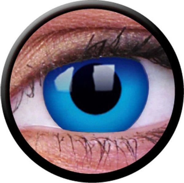 ColorVue Crazy-Kontaktlinsen - Sky Blue (2 St. Tageslinsen) – ohne Stärke