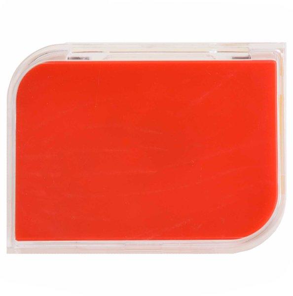 Etui für harte Kontaktlinsen - Set - Rot