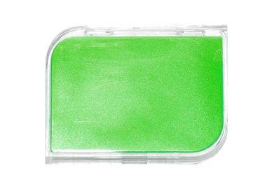Etui für harte Kontaktlinsen - Set - Grün