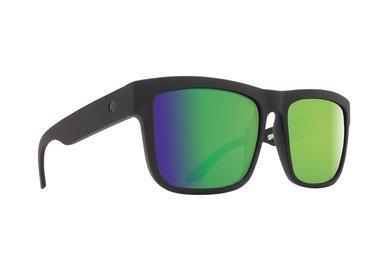 Sonnenbrille SPY DISCORD Matte Black Green - Hapy Polar