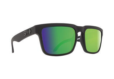Sonnenbrille SPY HELM Matte Black - happy polar