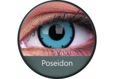 ColourVue Crazy Kontaktlinsen - Posedion (2 St.Jahreslinsen)  – ohne Stärke