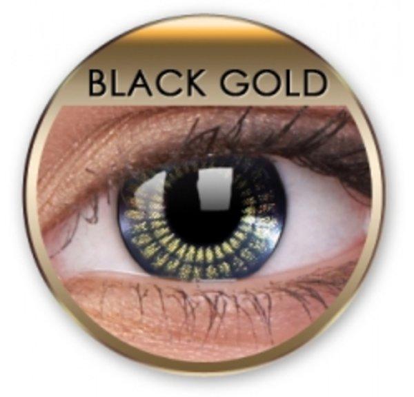 Jewel - Black Gold (2 St. 3-Monatslinsen) - ohne Stärke