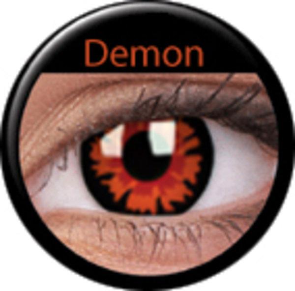 ColorVue Crazy-Kontaktlinsen - Demon-Volturi (2 St. Tageslinsen) – ohne Stärke