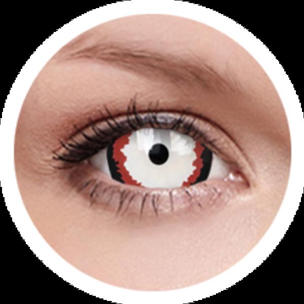 ColorVue Crazy  Kontaktlinsen 17 mm - Minotaur (2 St. Jahreslinsen) – ohne Stärke