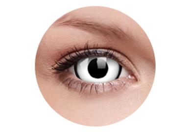 ColorVue Crazy  Kontaktlinsen 17 mm - Deadpool (2 St. Jahreslinsen) – ohne Stärke