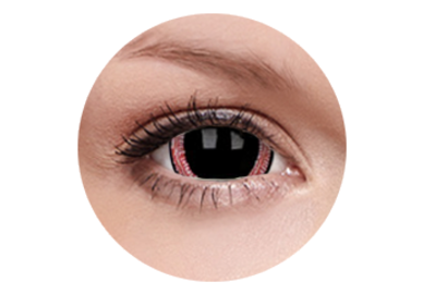 ColorVue Crazy  Kontaktlinsen 17 mm - Ravenous (2 St. Jahreslinsen) – ohne Stärke