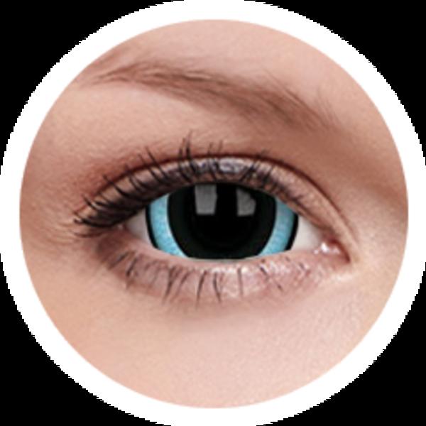 ColorVue Crazy  Kontaktlinsen 17 mm - Nebulos (2 St. Jahreslinsen) – ohne Stärke