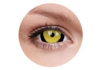 ColorVue Crazy  Kontaktlinsen 17 mm - Tigera (2 St. Jahreslinsen) – ohne Stärke