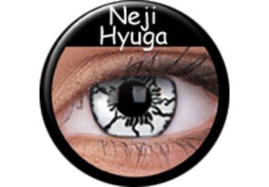 ColorVue Crazy Kontaktlinsen - Neji Hyuga (2 St. Jahreslinsen) – ohne Stärke