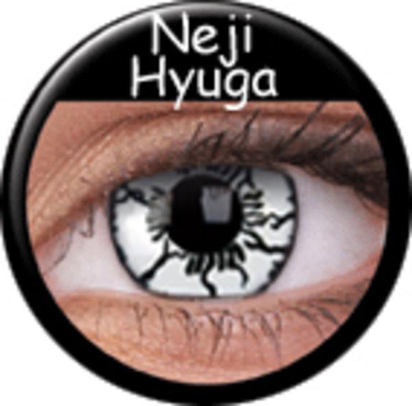ColorVue Crazy Kontaktlinsen - Neji Hyuga(2 St. Jahreslinsen)  – ohne Stärke