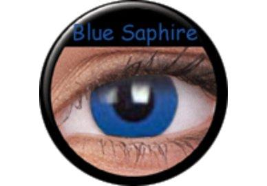 Phantasee Crazy Kontaktlinsen - Blue Saphire (2 St. Jahreslinsen) – ohne Stärke
