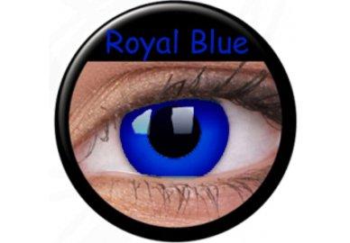 ColourVue Crazy Kontaktlinsen - Psylocke (Royal Blue) (2 St. Jahreslinsen) – ohne Stärke