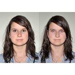 ColourVue Crazy Kontaktlinsen - Red Cross (2 St. Jahreslinsen) – ohne Stärke