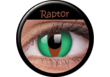 ColourVue Crazy Kontaktlinsen - Raptor (2 St. Jahreslinsen) – ohne Stärke