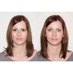 ColourVue Crazy Kontaktlinsen - Soccer (2 St. Jahreslinsen) – ohne Stärke