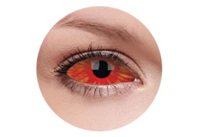ColourVue Crazy Kontaktlinsen 22 mm - Centurious (2 St. 6-Monatslinsen) – ohne Stärke