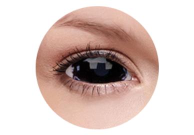 ColourVue Crazy Kontaktlinsen 22 mm - Apocalypse (2 St. 6-Monatslinsen) – ohne Stärke