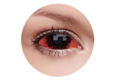 ColourVue Crazy Kontaktlinsen 22 mm - Kraken (2 St. 6-Monatslinsen) – ohne Stärke
