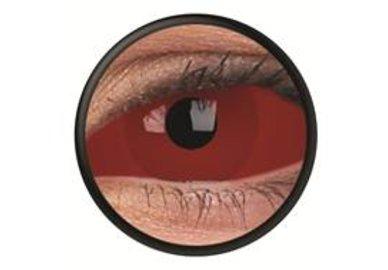 ColourVue Crazy Kontaktlinsen 22 mm - Cyclop (2 St. 6-Monatslinsen) – ohne Stärke