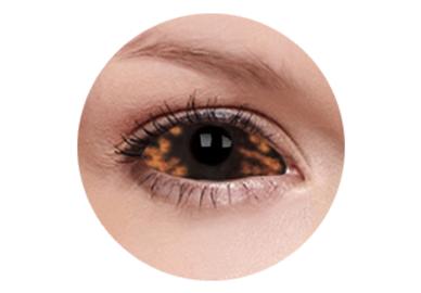 ColourVue Crazy Kontaktlinsen 22 mm - Morbius (2 St. 6-Monatslinsen) – ohne Stärke