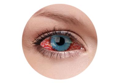 ColourVue Crazy Kontaktlinsen 22 mm - Mesmero (2 St. 6-Monatslinsen) – ohne Stärke