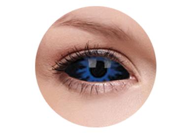 ColourVue Crazy Kontaktlinsen 22 mm - Thanos (2 St. 6-Monatslinsen) – ohne Stärke