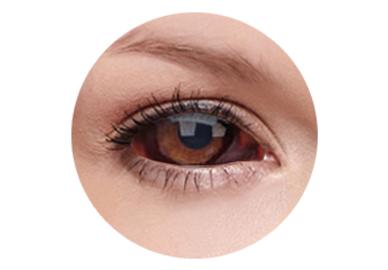 ColourVue Crazy Kontaktlinsen 22 mm - Quasar (2 St. 6-Monatslinsen) – ohne Stärke