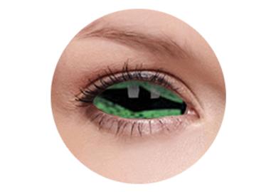 ColourVue Crazy Kontaktlinsen 22 mm - Reptillia (2 St. 6-Monatslinsen) – ohne Stärke