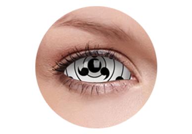 ColourVue Crazy Kontaktlinsen 22 mm - Tailed Beast (2 St. 6-Monatslinsen) – ohne Stärke