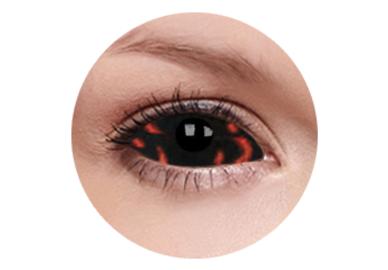 ColourVue Crazy Kontaktlinsen 22 mm - Warlock (2 St. 6-Monatslinsen) – ohne Stärke