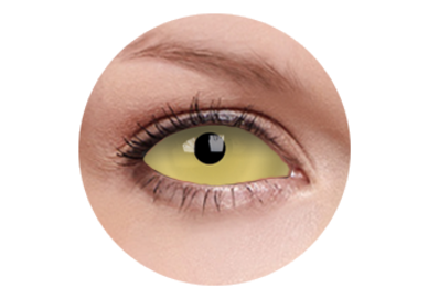 ColorVue Crazy Kontaktlinsen UV 22mm - Amazo (2 St. 6-Monat-Linsen) – ohne Stärke